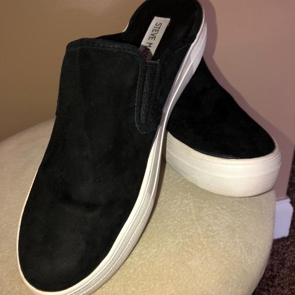 f26076f2a8d Women's Steve Madden Black Glenda Fashion Sneaker